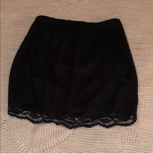 Dresses & Skirts - Black lace mini skirt, women's size medium